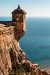 Obrazy na płótnie, fototapety, zdjęcia, fotoobrazy drukowane : Castle of Santa Barbara in Alicante city. Spain