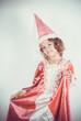 Obrazy na płótnie, fototapety, zdjęcia, fotoobrazy drukowane : bambina con costume da carnevale