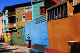 La Boca Coloured Houses
