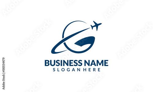 Global Travel And Tour Vector Logo Design 4