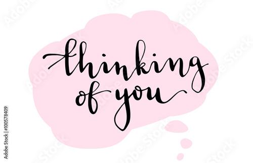 Póster Pensando en ti