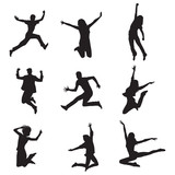 Fototapety People Jump
