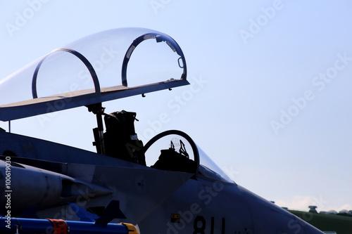 Poster F-15のキャノピー