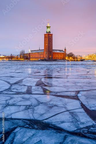Foto op Canvas Stockholm Stockholm City Hall