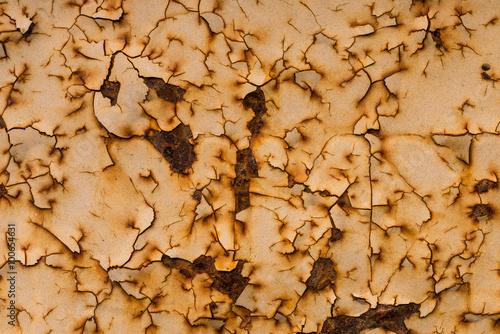 In de dag Stenen texture of grunge background iron rusty artistic wall