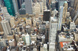 Obrazy na płótnie, fototapety, zdjęcia, fotoobrazy drukowane : Cityscape view of Manhattan
