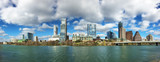 Panorama of the Austin, Texas, skyline