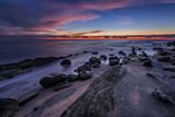 Rocky sunrise.