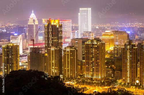 Poster Taipei, Taiwan skylines