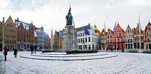Papiers peints Bruges Зимний Брюгге