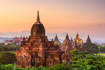 Bagan, Myanmar Ancient Buddhist Temples © SeanPavonePhoto