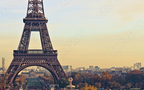 Leinwanddruck Bild paris france eiffel tower