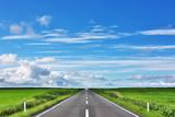 猿払村の直線道路