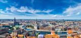 Fototapety Copenhagen panorama
