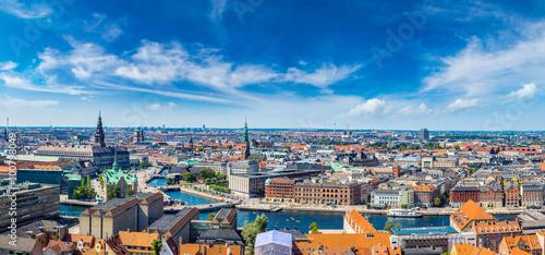 obraz PCV Copenhagen panorama