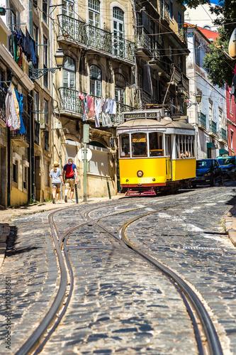 Juliste Lisbon tram