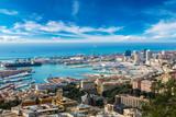 Port of Genoa in Italy - Fine Art prints