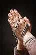 Obrazy na płótnie, fototapety, zdjęcia, fotoobrazy drukowane : hands and rosary