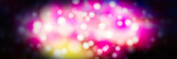 Bright abstract background with bokeh. Festive substrate for holiday text