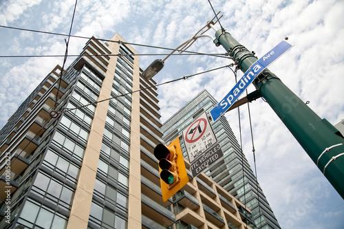 Poster Toronto street