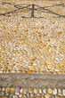 wall milan  italy   mosaic stone