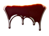chocolate syrup dessert food sweet leaking drop
