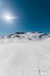 Fototapete Skilaufen - Alpine -