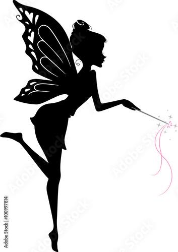 Fairy Silhouette - 100997814
