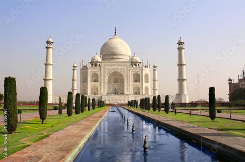 mata magnetyczna Taj Mahal mausoleum, Agra, India