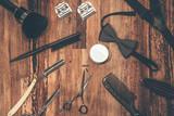 Barber tools.