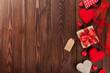 Obrazy na płótnie, fototapety, zdjęcia, fotoobrazy drukowane : Valentines day background with hearts