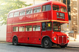 Red Double Decker Bus - 101062073