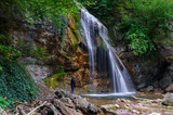 jur-jur waterfall crimea