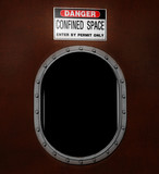 confined space restriction, Safety, man way