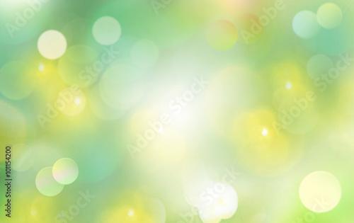 Spring background blur