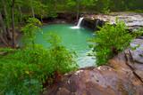 Fototapety View of Falling Water Falls on Falling Water Creek