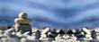 Relax Zen stones banner