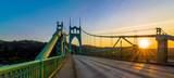St. John's Bridge in Portland Oregon, USA - 101262825