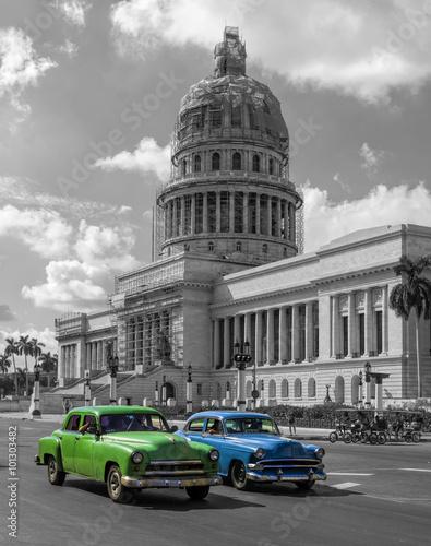 mata magnetyczna Cuba Capitol Havanna
