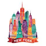 New York city. Vector illustration - 101307697