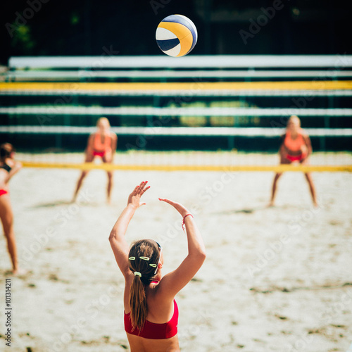 Poster Beach-Volleyball