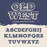 Old West Font - 101346271