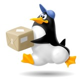pinguino corriere