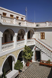 Monastery of Archangel Michael Panormitis on Symi island. Greece