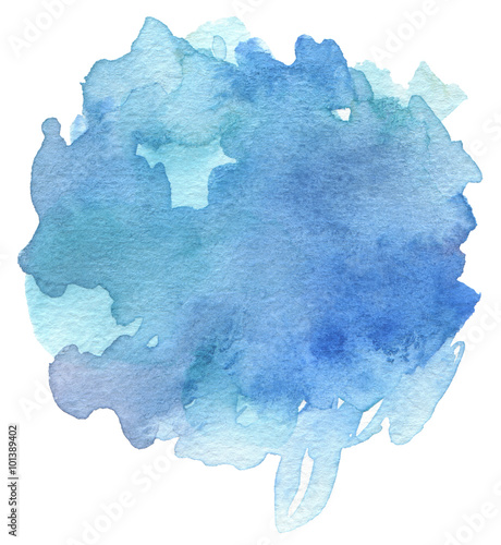 Aluminium Geschilderde Achtergrond Abstract acrylic and watercolor brush strokes painted background