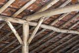 Antique technique of roof construction