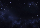 Fototapety beautiful background of the night sky with stars