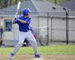 teen baseball batter