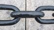 Thick chain contributes to waterfront theme on Boston Harborwalk