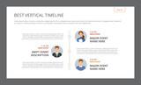 Best Vertical Timeline Template